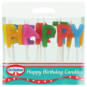 Happy Birthday Candles | Buy Gifts in Dubai UAE | Gifts