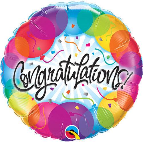 Congratulations Foil Balloon 3 | Buy Balloons in Dubai UAE | Gifts