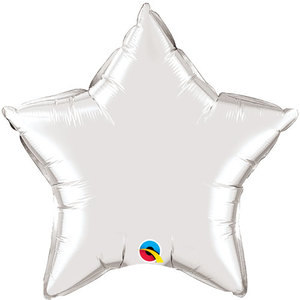 Silver Star Foil Balloon | Buy Gifts in Dubai UAE | Gifts