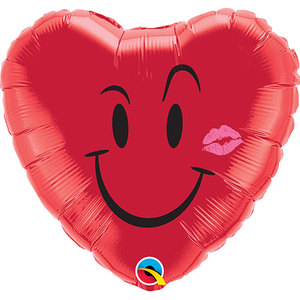 Naughty Smile & A Kiss Foil Balloon | Buy Balloons in Dubai UAE | Gifts
