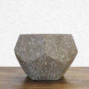 Short Stone Pot
