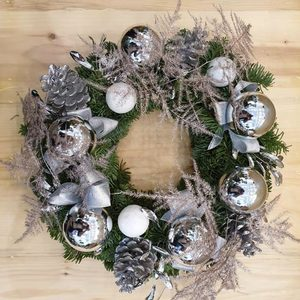 SnowBells Christmas Wreath | Send Christmas Gifts and Flowers in Dubai UAE