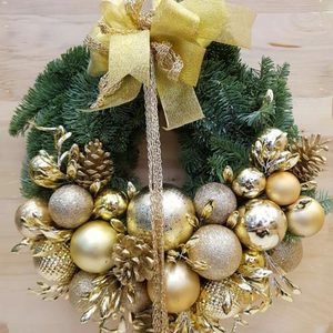 Deck the Halls Christmas Wreath | Send Christmas Gifts and Flowers in Dubai UAE
