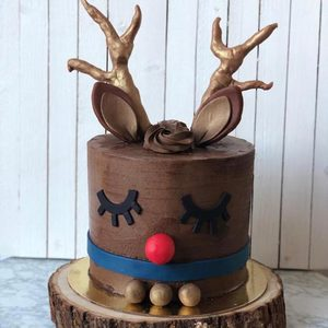 Christmas Rudolph Cake | Buy Cakes in Dubai UAE | Gifts