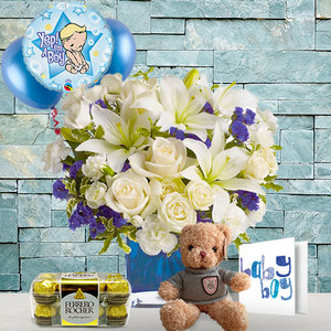 Newborn Baby Boy | Buy Flowers in Dubai UAE | Gifts