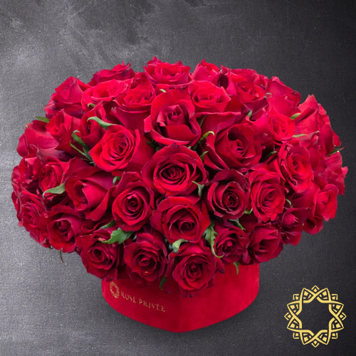 Royal Love 65 by Rose Privée | Buy Flowers in Dubai UAE | Gifts