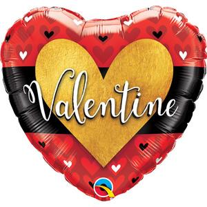 Valentine Heart Foil Balloon | Buy Balloons in Dubai UAE | Gifts