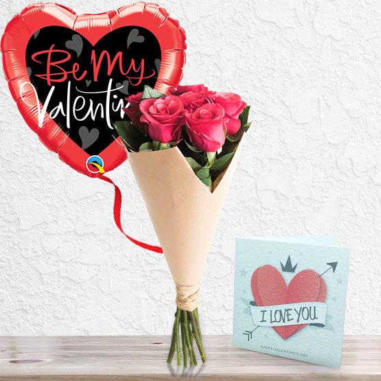 Six Stolen Kisses Package   Buy Flowers in Dubai UAE   Gifts