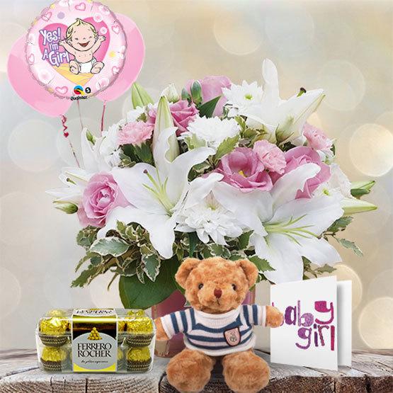 Newborn Baby Girl | Buy Flowers in Dubai UAE | Gifts