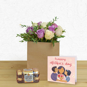 Marvelous Package - English Greeting Card + Chocolates | Flower Delivery in Dubai UAE