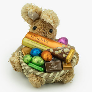 Godiva Small Bunny Basket (140gms) | Buy Chocolates Gifts in Dubai