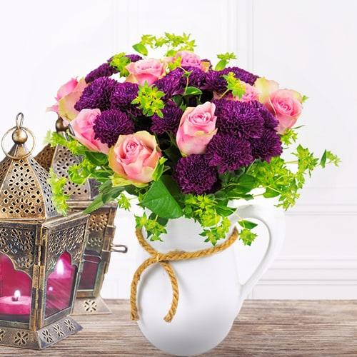 Flowery Pot Surprise | Buy Flowers in Dubai UAE | Gifts