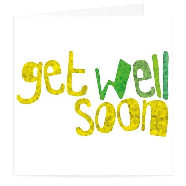 Get Well Soon Premium Card